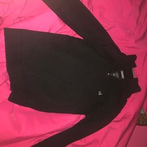 calvin klein half zip up sweater